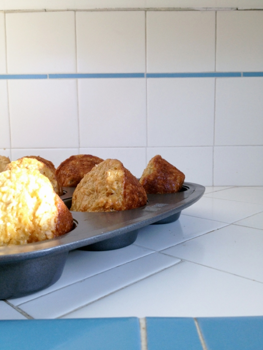 quinoa oatmeal muffins