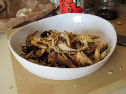 miso mushrooms