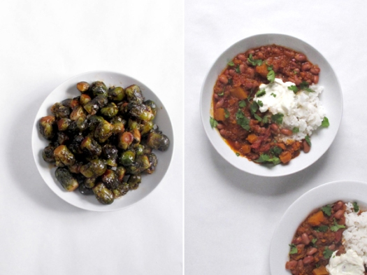 sprouts and chili